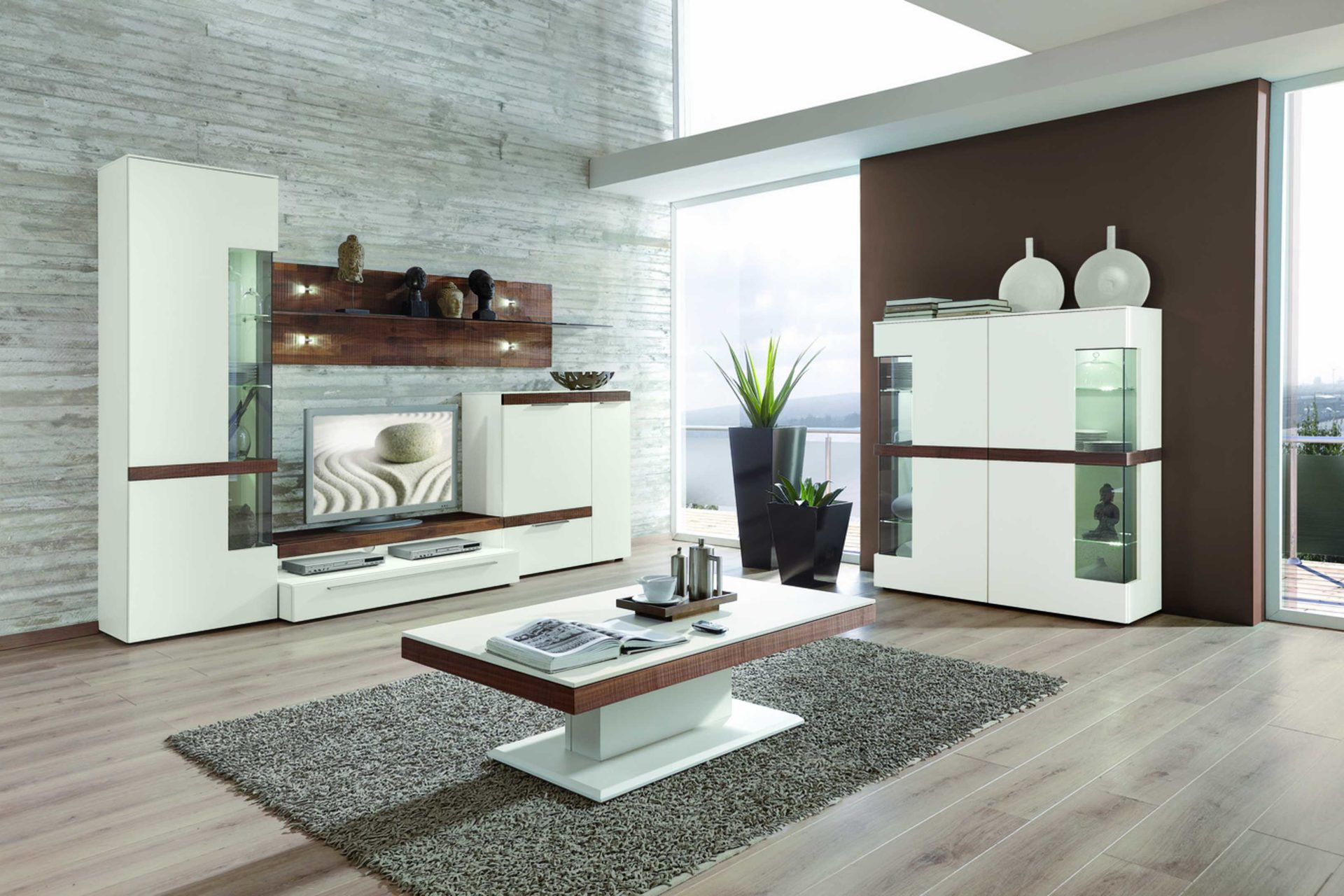Wohnzimmer weiss nussbaum – Neues Weltdesign 2018
